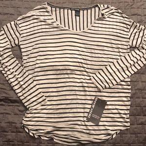 DKNY stripe top